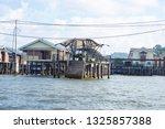 bandar seri begawan  brunei  ... | Shutterstock . vector #1325857388