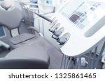 closeup control panel of a...   Shutterstock . vector #1325861465