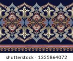 seamless wide border with... | Shutterstock .eps vector #1325864072