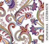 seamless  pattern with  ornate... | Shutterstock .eps vector #1325864078