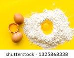 making dough concept. pile of... | Shutterstock . vector #1325868338