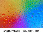 Water Drop Colorful Rainbow