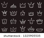 hand drawn set of different... | Shutterstock .eps vector #1325905535