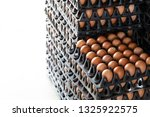 egg panels arranged on a... | Shutterstock . vector #1325922575