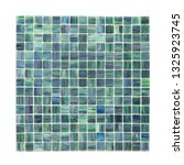square background wall mosaic...   Shutterstock . vector #1325923745