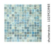 square background wall mosaic...   Shutterstock . vector #1325923985