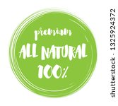 "green color stamp ""natural... 