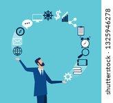 vector of a businessman... | Shutterstock .eps vector #1325946278