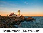 portland headlight with... | Shutterstock . vector #1325968685