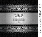 vintage background  antique ... | Shutterstock .eps vector #132601415