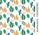 beautiful seamless pattern with ...   Shutterstock .eps vector #1326020282