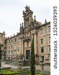 mosteiro de san martino pinario ... | Shutterstock . vector #1326039395