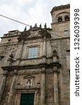 mosteiro de san martino pinario ... | Shutterstock . vector #1326039398