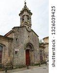 view of facade of iglesia de... | Shutterstock . vector #1326039425