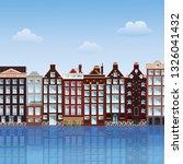 amsterdam cityscape. vector... | Shutterstock .eps vector #1326041432