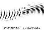 halftone gradient pattern.... | Shutterstock .eps vector #1326060662