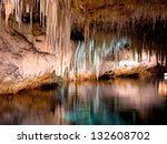 Beautiful Cave Interior With...