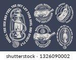 set of vintage marine... | Shutterstock .eps vector #1326090002