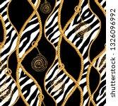 golden chain glamour zebra...   Shutterstock . vector #1326096992