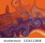 modern colorful flow poster.... | Shutterstock .eps vector #1326112808