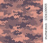 seamless camouflage pattern.... | Shutterstock .eps vector #1326130055