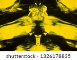 yellow and black abstract... | Shutterstock . vector #1326178835