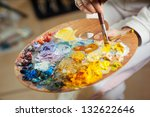 Artist Brush Mix Color Oil...