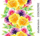 flower print. elegance seamless ... | Shutterstock .eps vector #1326232982