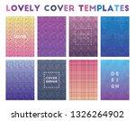 lovely cover templates....   Shutterstock .eps vector #1326264902