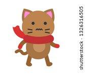 cute cat avatar vector...