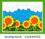 april showers | Shutterstock . vector #132634532