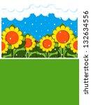 april showers | Shutterstock . vector #132634556