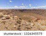 Meteor Crater  In The Arizona...