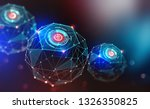 artificial intelligence and... | Shutterstock . vector #1326350825