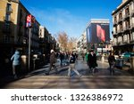 barcelona  catalonia   spain  ... | Shutterstock . vector #1326386972