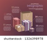 shopping infographic concept... | Shutterstock .eps vector #1326398978