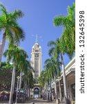 Aloha Tower In Honolulu  Oahu ...