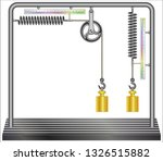 comparison of a spring used...   Shutterstock .eps vector #1326515882