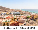 morro  jable town located on... | Shutterstock . vector #1326535868
