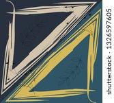geometric triangle brush...   Shutterstock .eps vector #1326597605
