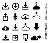 download icons  vector arrows... | Shutterstock .eps vector #1326620312