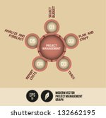 modern vector project... | Shutterstock .eps vector #132662195