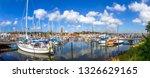 marina of flensburg  germany  | Shutterstock . vector #1326629165