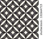 vector seamless pattern. modern ... | Shutterstock .eps vector #132664715