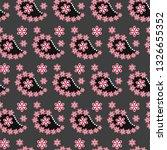 paisley seamless pattern.... | Shutterstock .eps vector #1326655352
