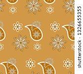 paisley seamless pattern.... | Shutterstock .eps vector #1326655355