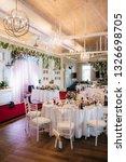 banquet hall for weddings ...   Shutterstock . vector #1326698705