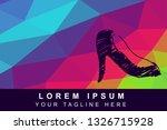vector illustration rainbow... | Shutterstock .eps vector #1326715928