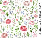 watercolor seamless pattern of... | Shutterstock . vector #1326719612