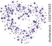 falling stars confetti...   Shutterstock .eps vector #1326731825